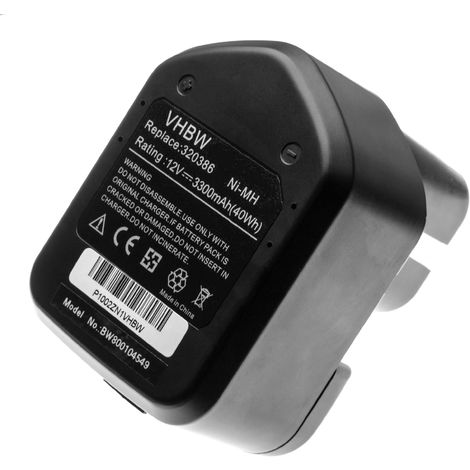 vhbw Akku 3300mAh für Werkzeug Rothenberger Romax Pressliner wie EB12, EB1224, EB12B, EB12G.
