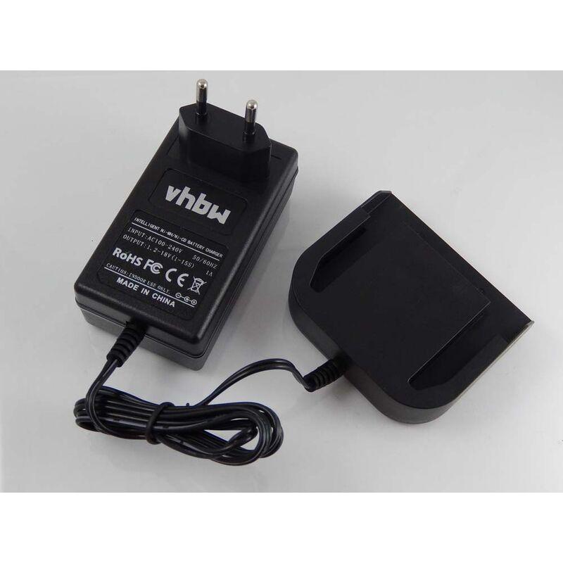 vhbw Alimentation 220V câble chargeur pour outils Milwaukee 0516-22, 0516-52, 0612-20, 0612-22, 0612-26, 0613-20, 0613-24, 0614-20, 0614-24