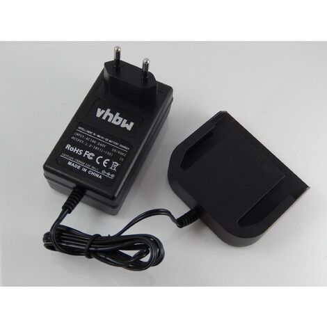vhbw Alimentation 220V câble chargeur pour outils Würth L1414, L1414R, L1415, L1415R, L1430, L1430L, L1430R