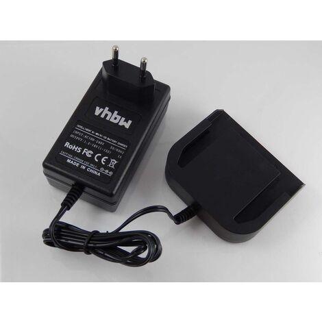vhbw Alimentation 220V câble chargeur pour outils Würth Master 14.4 V SD-LI14.4V Lithium-Ion, AEG BSB 14G, BS 14 C, BS 14 X, BS14C, BS14X, BSS 14