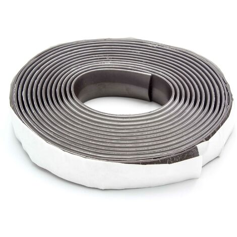 vhbw Bande magnétique compatible avec Neato All Floor, Signature 25, VX Pro, XV Signature, XV signature pro, XV-11 - 450 cm
