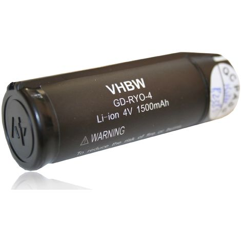 vhbw Batería 1500mAh herramientas Ryobi AP4001, AP4302, AP4700, HP53LK, RP4310, RP4400, RP4410, RP4470, RP4530, RP4550, RP4900, TEK4, ...