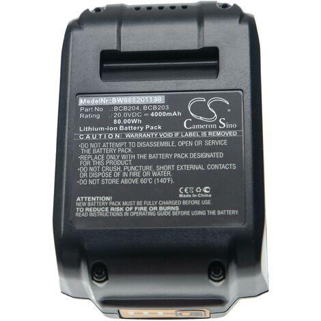 "main image of ""vhbw Batería compatible con Bostitch 15 GA FN Angled Finish Nailer Kit herramientas eléctricas (4000mAh Li-Ion 20V)"""