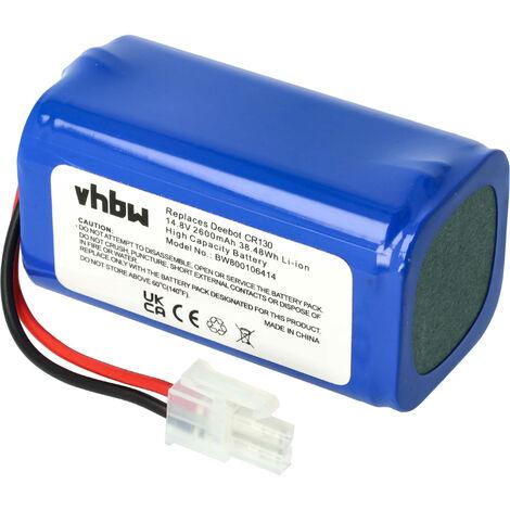 vhbw Batería compatible con iLife A4, A4s, A6 aspiradora, robot de limpieza (2600mAh, 14.8V, Li-Ion)