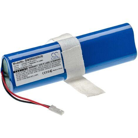 vhbw batería compatible con iLife V3s Pro, V50, V5s Pro, V8s, X750 robot de limpieza (2600mAh, 14.4V, Li-Ion)