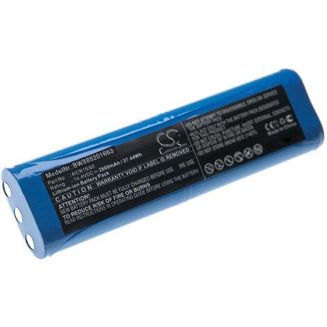 vhbw Batería compatible con Philips FC8810, FC8820, FC8830, FC8832 aspiradora, robot de limpieza (2600mAh, 14,4V, Li-Ion)