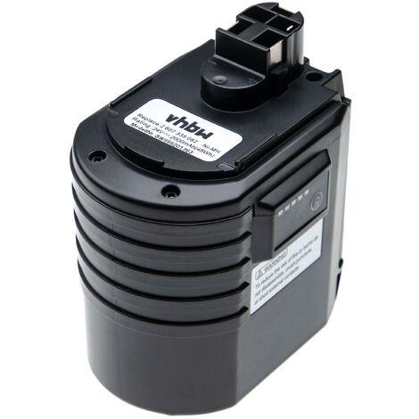 vhbw batería compatible con Würth ABH 20, ABH 20-SLE herramienta eléctrica (2000mAh, 24V, NiMH)