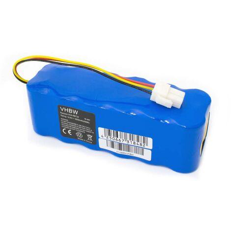 vhbw® Batería de recambio NiMH 3000mAh (14.4V) para aspiradoras, robot aspirador Samsung Navibot serie SR, reemplaza SR8850, SR8855, SR8877, ...