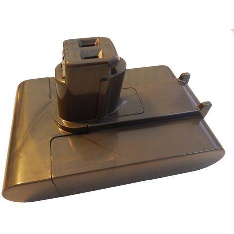 vhbw Batería Li-Ion 2000mAh (22.2V) para aspirador Dyson DC31 Animal, DC35 Exclusive, DC44, DC44 Animal como Dyson 18172-0201, 917083-03, 917083-05.