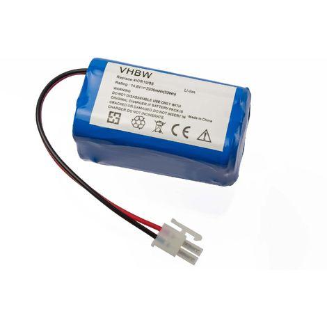 vhbw Bater/ía Ni-Mh 2000mAh SWR-T325 reemplaza LP43SC2000P. SWR-T321 SWR-T322 para robots aspirador dom/éstico Haier SWR-T320 14.4V