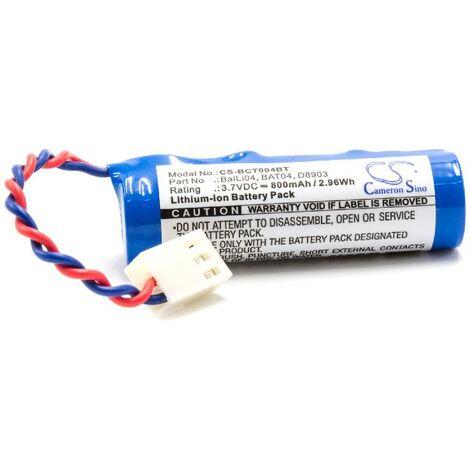 """vhbw Batería Li-Ion 800mAh (3.7V) para sistema de alarma, """"Alarm Control Home Security"""" Logisty L3260, L3260F, L3260X, L3261F, L3262F, L3303"""