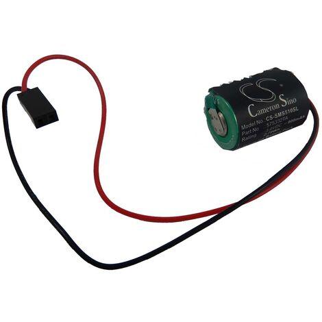 vhbw Batería Li-Ion 900mAh (3V) para unidad de control Siemens Simatic S7-400, SL2361 CXFL, SL761, SL770 como 575332TA, 840D, entre otros.