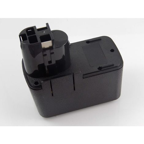 vhbw Batería NiMH 1500mAh (12V) para herramientas eléctricas Powertools Tools Bosch GSR 12VET, GSR 12VPE-2, GSR 12VSH-2, PSB 12VSP-2, PSR 120