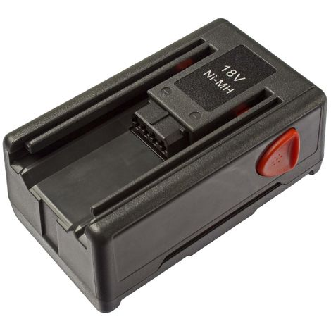 vhbw Batería NiMH 1500mAh (18V) para herramientas de jardín Gardena Gardena SmallCut 300, SmallCut 300/23, SmallCut 8844-20 reemplaza 8834-20.