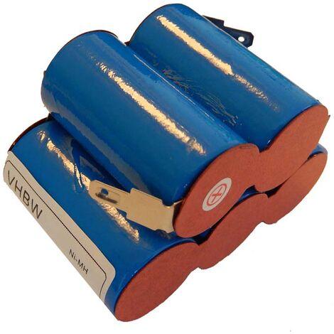 vhbw Batería (pack) compatible con Zündapp, Kreidler, DKW, KTM, Hercules, Puch (motocicletas con motor Sachs, controlador de carga Ulo Box 3000 mAh)