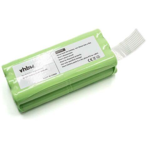 vhbw Batería para aspiradoras, robots aspiradoras Home Cleaner Midea R1-L051B reemplaza 0606004 (800mAh, 14.4V, Ni-MH)