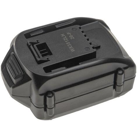vhbw Batería recargable compatible con Worx WX678.9, WX682, WX682.9, WX693, WX693.9, WX800, WX800.9, WX800.9 MAX (4000mAh Li-Ion 18V)
