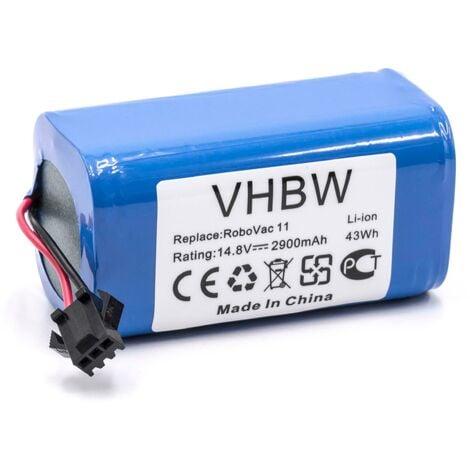 vhbw Batería reemplaza Cecotec CONG1002 para aspiradora, robot de limpieza (2900mAh, 14,8V, Li-Ion)