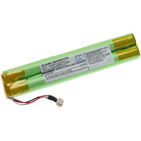 vhbw batería reemplaza Paradox Magellan 0780100172, 0780100178 paracontrol de alarma seguridad (2000mAh, 7.2V, NiMH)