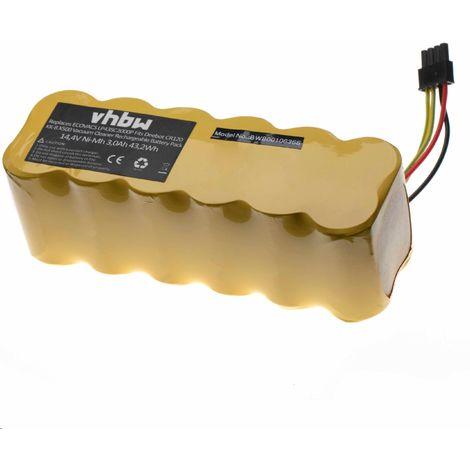 RC4000 sostituisce 2.891-029.0. 6V vhbw 2x Batteria Ni-MH 2000mAh per Robot Aspirapolvere K/ärcher RoboCleaner RC 4.000 RC3000