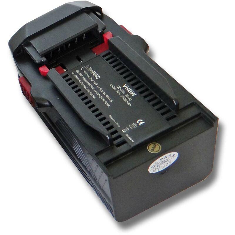 vhbw Batterie compatible avec Hilti WSC 7.25-A36 pour outil électrique (3000mAh Li-Ion 36V) - remplacement pour Hilti B36, B36V