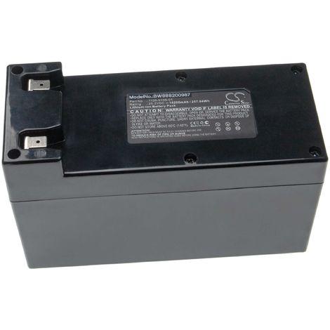 vhbw batterie compatible avec Alpina 124563 tondeuse à gazon robot tondeuse (10200mAh, 25.2V, Li-Ion)