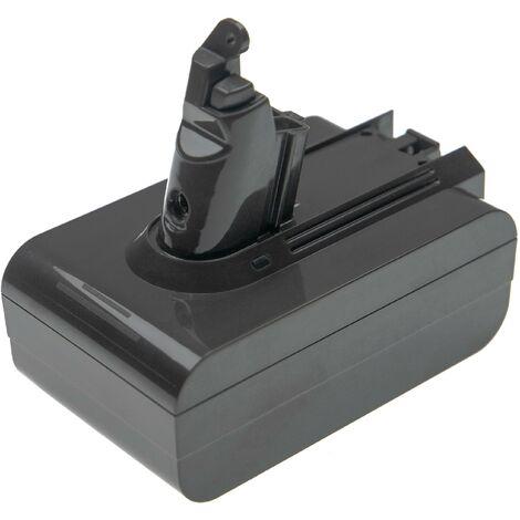 vhbw batterie compatible avec Dyson V 6 Animalpro, DC58, DC61, DC62, DC72 aspirateur Home Cleaner (5000mAh, 21,6V, Li-Ion)