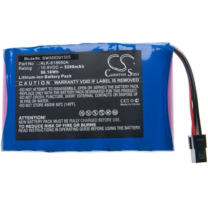 vhbw batterie compatible avec Eloik ALK-80, ALK-88, ALK-88A, HH-88 soudeuse (5200mAh, 10,8V, Li-Ion)