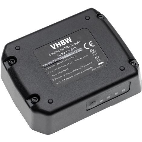 vhbw batterie compatible avec Hilti PM 40-MG, PR 2-HS A12, PR 3-HVSG, PR 3-HVSG A12, PR 30-HVS A12 outil électrique (1500mAh Li-Ion 10,8V)