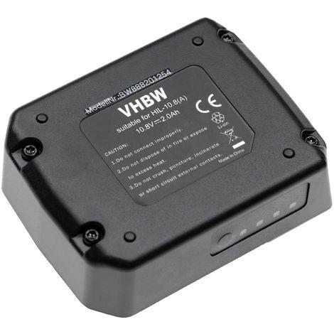 vhbw batterie compatible avec Hilti PR 30-HVSG A12, SF 2-A, SF 2H-A, SFD 2-A, SID 2-A, SL 2-A12 outil électrique (2000mAh Li-Ion 10,8V)