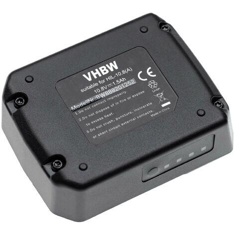 vhbw Batterie compatible avec Hilti SF 2-A12, SF 2H-A12, SFD 2-A12, SFE 2-A12, SID 2-A12 outil électrique (1500mAh Li-ion 10,8V)