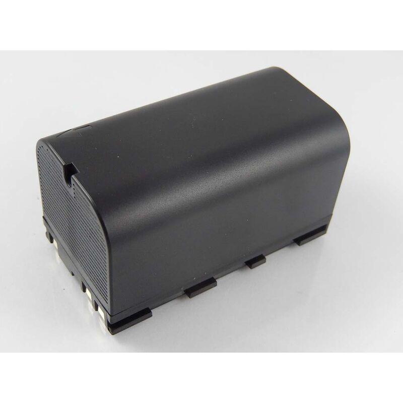 vhbw Batterie compatible avec Leica TS06, TS09, TS11, TS12, TS15 dispositif de mesure laser, outil de mesure (5600mAh, 7,4V, Li-ion)