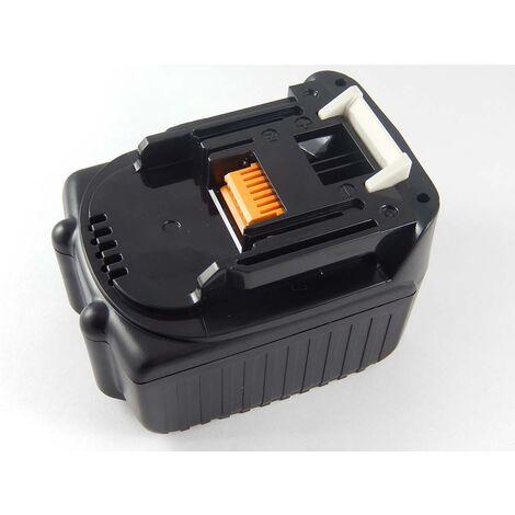vhbw Batterie compatible avec Makita DML808, DMR106, DMR106B, DMR108, DMR108B, DSC102 outil électrique (2000mAh Li-ion 14,4 V)