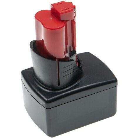 vhbw Batterie compatible avec Milwaukee M12 HPT-202C M-KIT, M12 HPT-202C TH-KIT outil électrique (7500mAh Li-ion 12 V)