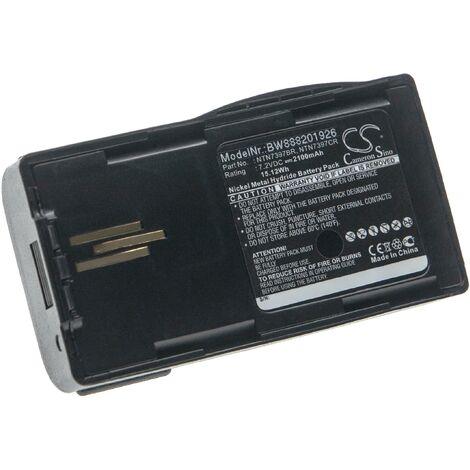 vhbw batterie compatible avec Motorola Visar radio talkie-walkie (2100mAh 7,2V NiMH)