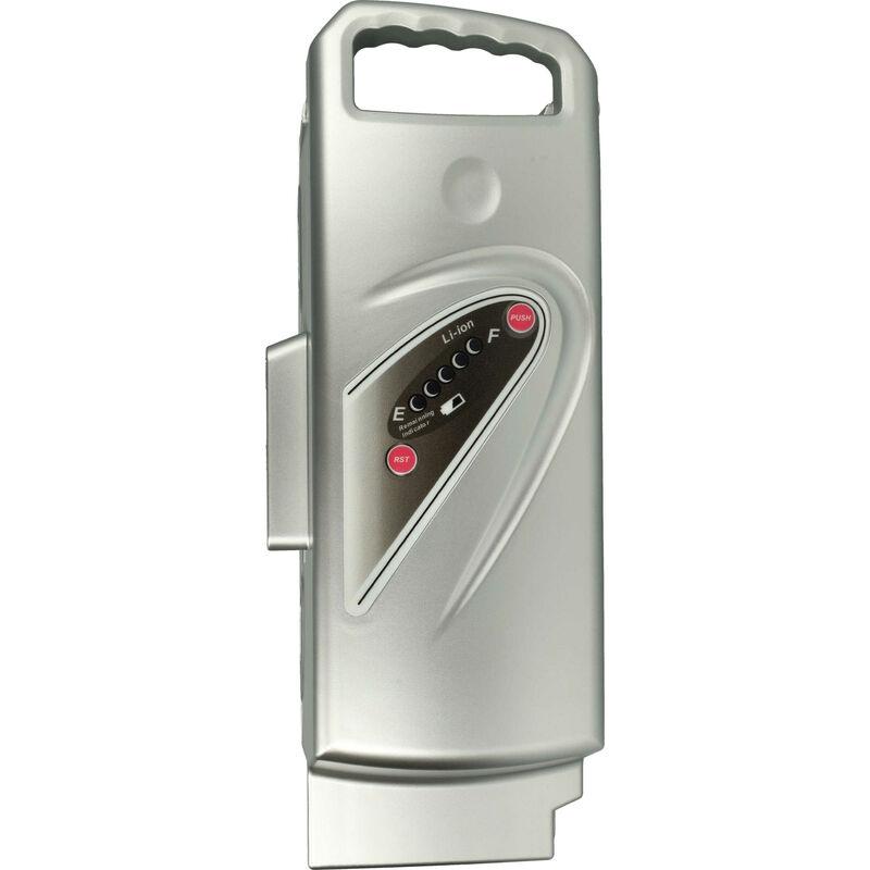 vhbw Batterie compatible avec Panasonic Flyer C10 HS, C11 HS, C12 HS, C6, C8 HS vélo électrique, E-bike, Pedelec (15600mAh, 25,2V, Li-ion)