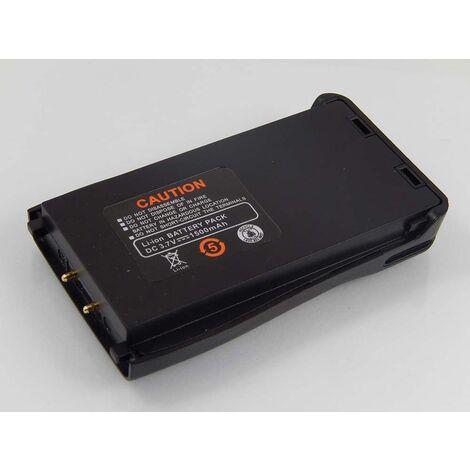 vhbw batterie compatible avec Retevis H777 radio talkie-walkie (1500mAh 3,7V Li-ion)