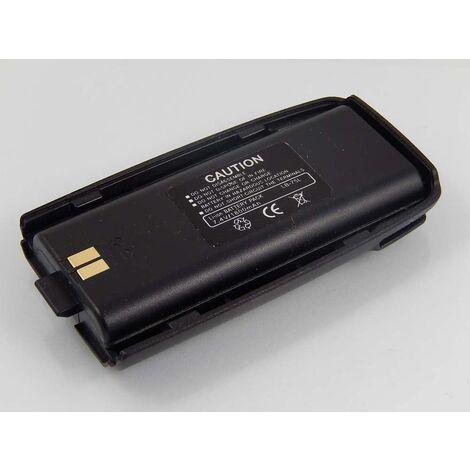 vhbw batterie compatible avec Retevis RT2 radio talkie-walkie (1800mAh 7,4V Li-Ion)