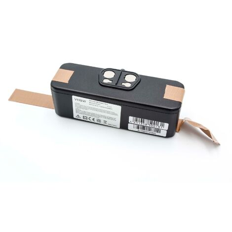 vhbw batterie de rechange Li-Ion 2000mAh (14.4V) compatible avec iRobot Roomba des séries 500, 600, 700, 800, 900