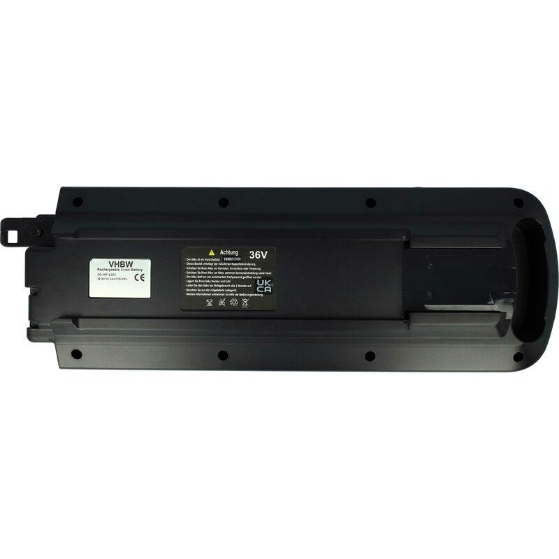 vhbw Batterie Li-Ion 10400mAh (36V) pour vélo électrique ebike comme Gazelle 20123475-998402600, 23691, 998402600, F160684, GEB-14-W42
