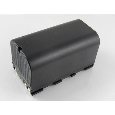 vhbw Batterie Li-Ion 5600mAh (7.4V) pour caméra laser Geomax Zenith 10, 20, 25 comme 724117, 733269, GEB90.