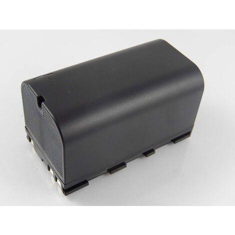 vhbw Batterie Li-Ion 5600mAh (7.4V) pour caméra laser Geomax ZT80+ comme 724117, 733269, GEB90.