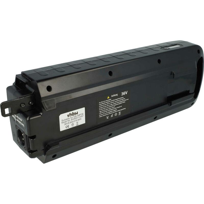 vhbw Batterie Li-Ion 8800mAh (36V) pour vélo électrique ebike comme Gazelle 10INR19/66-4