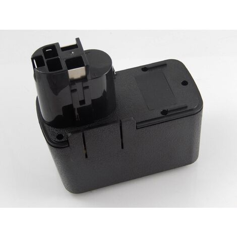 vhbw Batterie NiMH 1500mAh (12V) pour outils électriques Powertools Tools Bosch GSR 12VET, GSR 12VPE-2, GSR 12VSH-2, PSB 12VSP-2, PSR 120