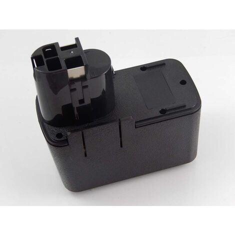 vhbw Batterie NiMH 1500mAh (12V) pour outils électriques Powertools Tools comme Bosch 2 607 335 107, 2 607 335 108, 2 607 335 143, 2 607 335 145