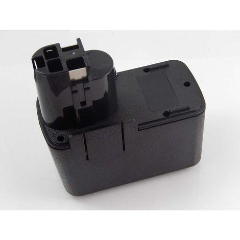vhbw Batterie NiMH 1500mAh (12V) pour outils électriques Powertools Tools comme Bosch 261091405, BH1214H, BH1214L, BH1214MH, H1214N