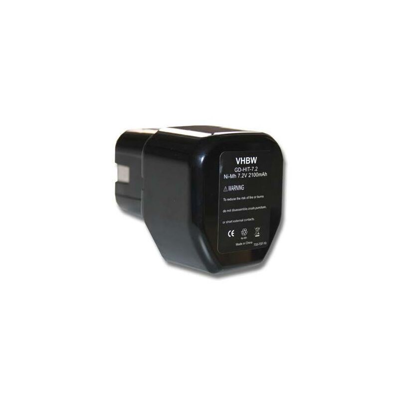 vhbw Batterie compatible avec Stanley Bostitch GCN40T, GF28WW, GF33PT outil électrique (2100mAh NiMH 7,2V)