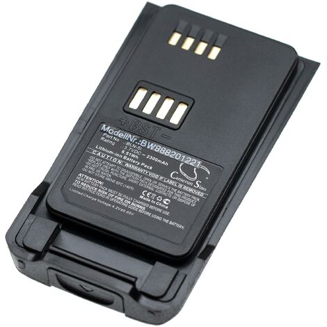 vhbw batterie remplace BLN-5i pour radio talkie-walkie (2300mAh, 3,7V, Li-Ion)
