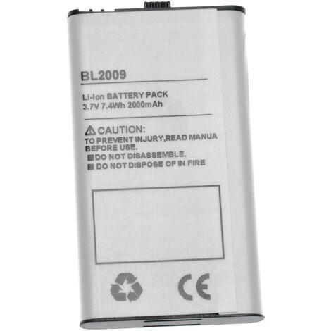 vhbw batterie remplace Hytera BL2009 pour radio talkie-walkie (2000mAh, 3.7V, )