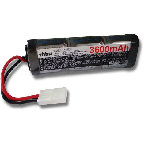 vhbw batterie remplace iRobot 11200 pour aspirateur Home Cleaner (3600mAh, 7,2V, NiMH)